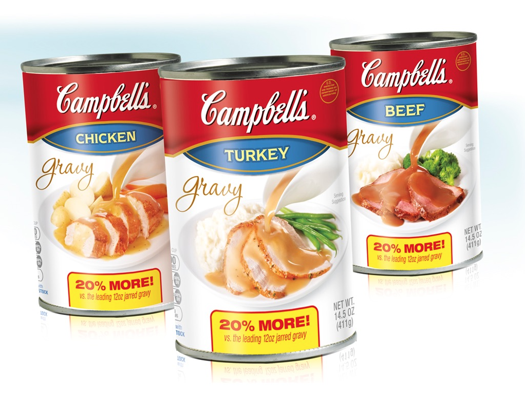 Campbell Soup Package Design
